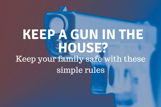 Hand Gun Home Safety