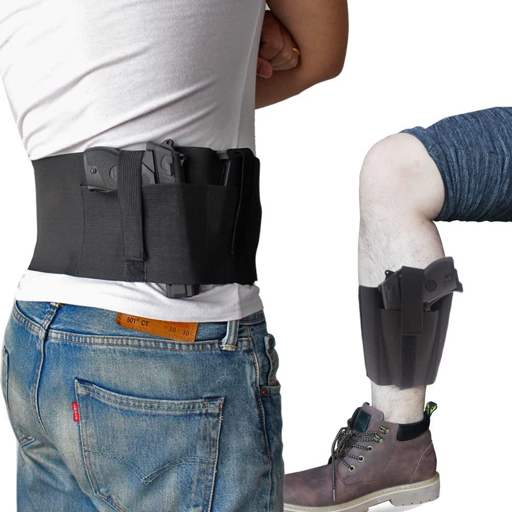 CREATRILL Bundle of Belly Band + Ankle Holster