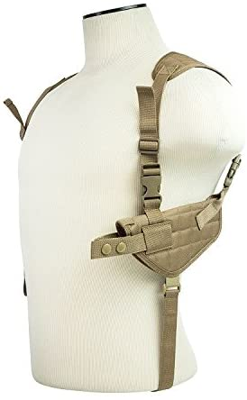 M1SURPLUS Stealth Grey Color Adjustable Ambidextrous Shoulder Holster