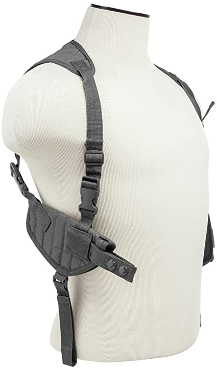 Ultimate Arms Gear Stealth Black Universal Vertical Ambidextrous Shoulder Holster