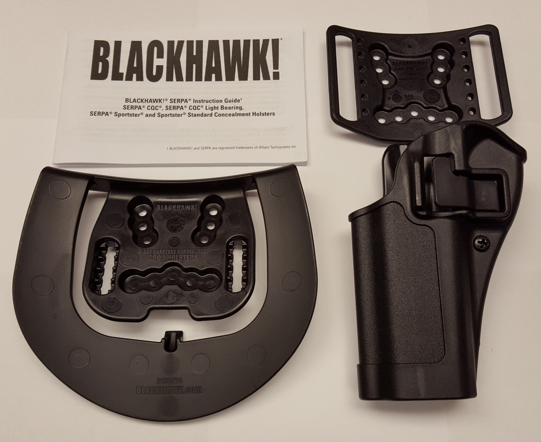 Blackhawk! Serpa CQC Concealment Holster