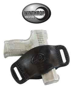Winthrop Holsters Ambidextrous OWB Belt Slide Holster