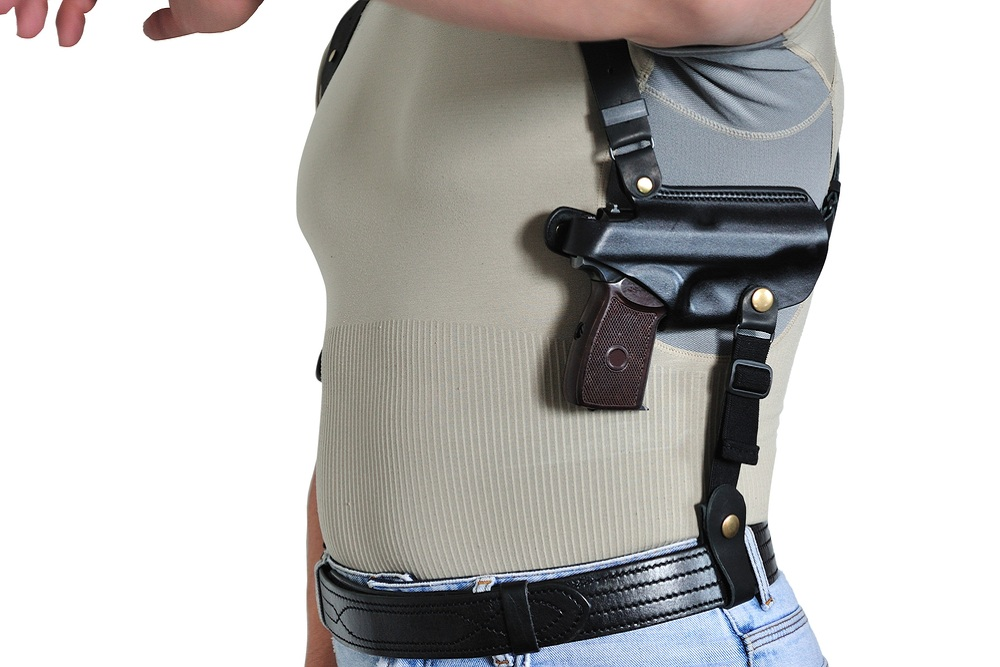 Bama Belts and Leathers Deluxe Shoulder Holster