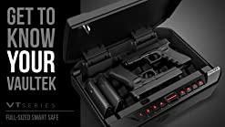 VAULTEK PRO VT Full-Size Handgun Safe Smart Multiple Pistol Safe