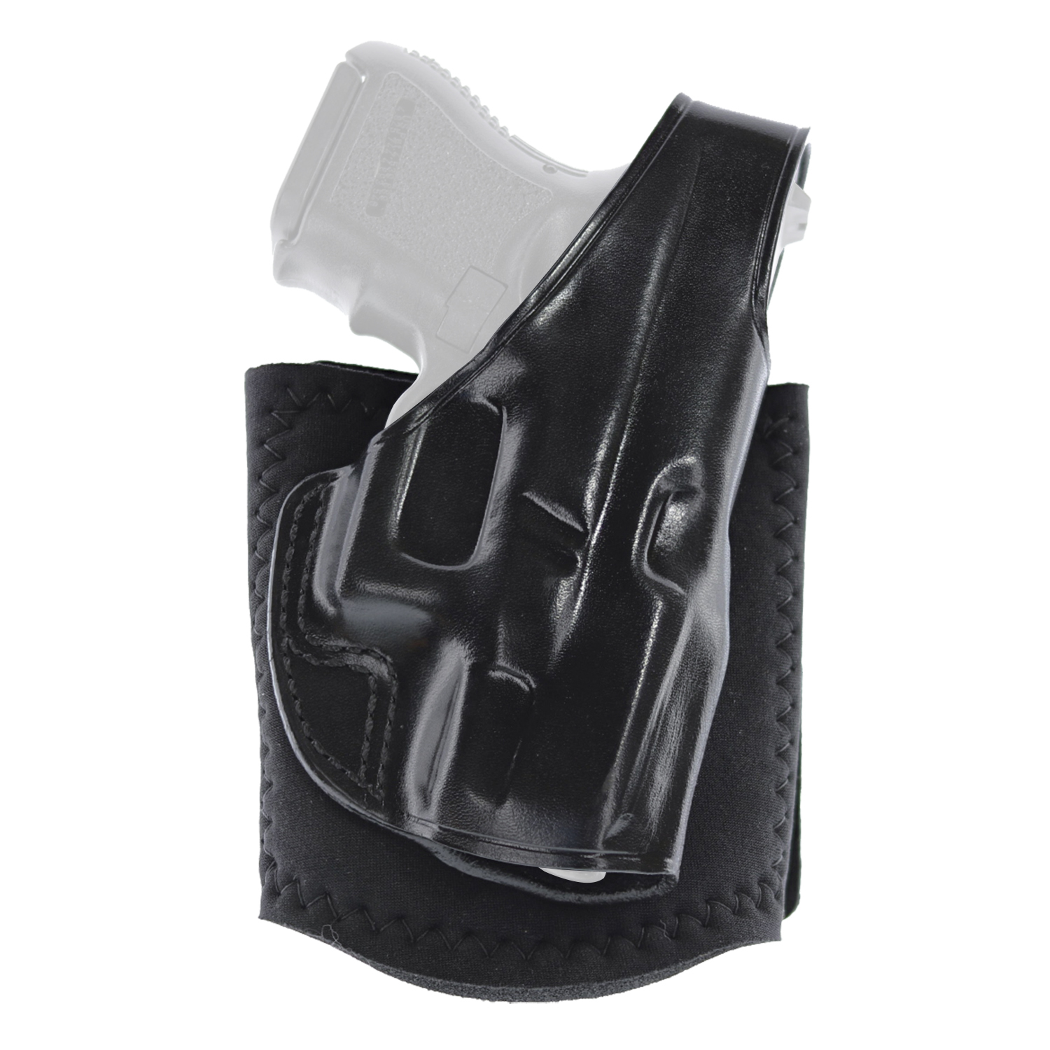 Galco Ankle Glove Holster Right Hand Glock 48