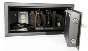 Verifi Smart.Safe. Fast Access Biometric Safe with FBI Fingerprint Sensor