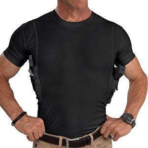 UnderTech Undercover Men's Concealed Crew Neck Shirt