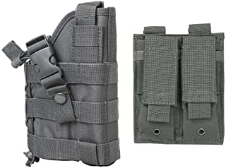 M1SURPLUS Stealth Grey Color Adjustable Ambidextrous Shoulder Holste