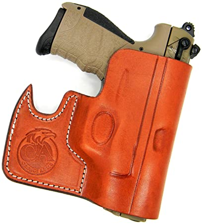HOLSTERMART USA Ambidextrous Leather Front Pocket