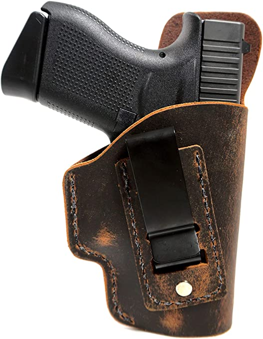 Muddy River Tactical Smith and Wesson Shield Leather Holster