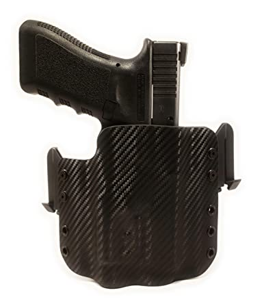 Tru-Fit Tactical OWB Kydex Gun Holster with Quick Clips
