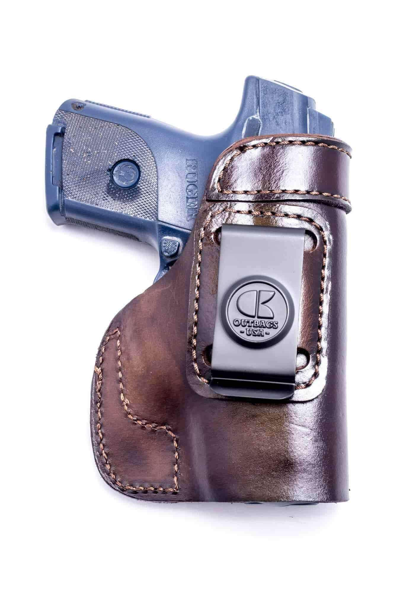 Outbags LOB3S Brown Leather IWB Holster