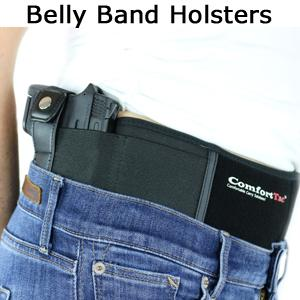 ComfortTac Ultimate Belly Band Holster for Concealed Carry