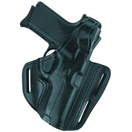 Gould and Goodrich Gold Line Three-Slot Pancake Holster
