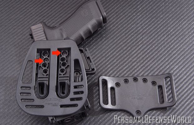 Uncle Mike's Tactical Kydex Paddle Holster
