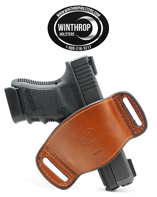 Winthrop Holsters Ambidextrous OWB Belt Slide Holster
