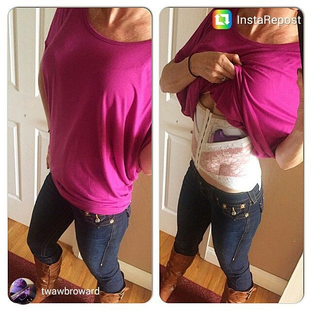 Can Can Women's Concealed Carry Holster
