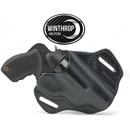 Winthrop Holsters 0225 - Steel Frame Taurus Judge Public Defender OWB Cross Draw