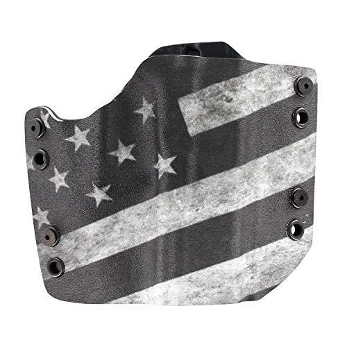 R&R Holsters: OWB Kydex Holster - FDE - Flat Dark Earth - US Flag